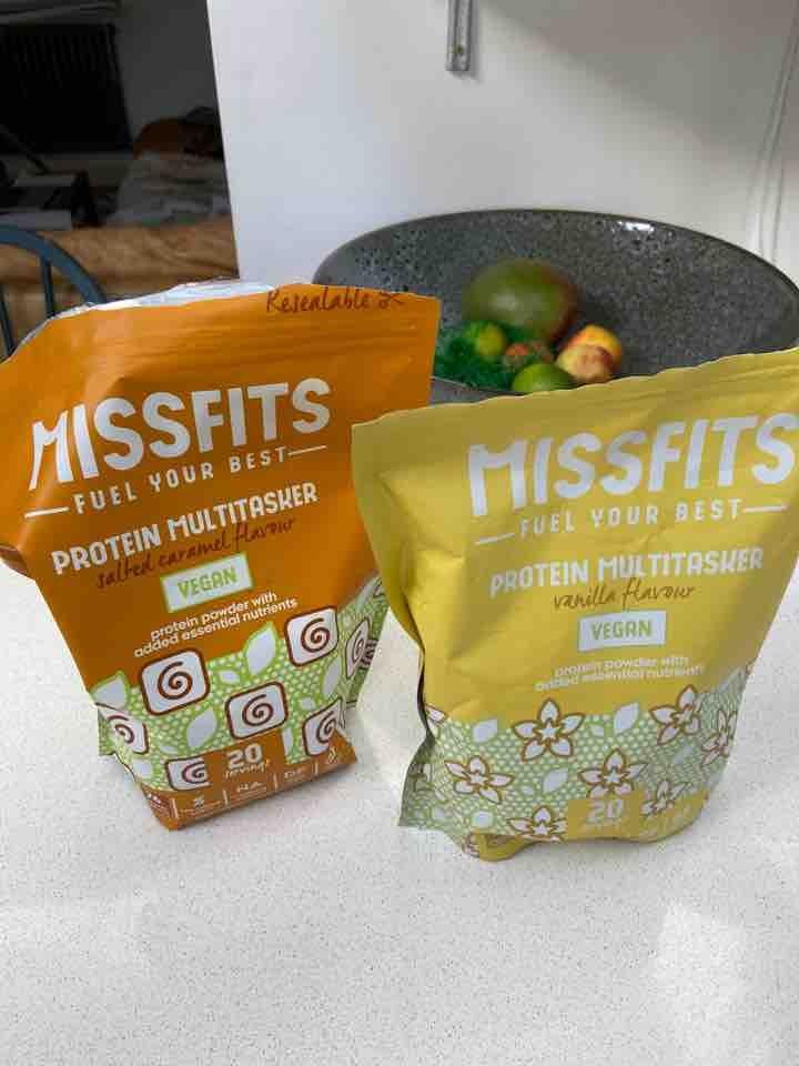 Misfits protein powders x 2