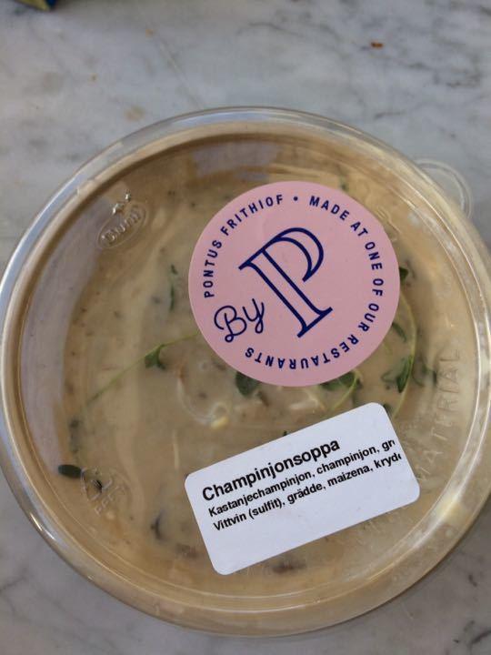 3 champinjon soppa