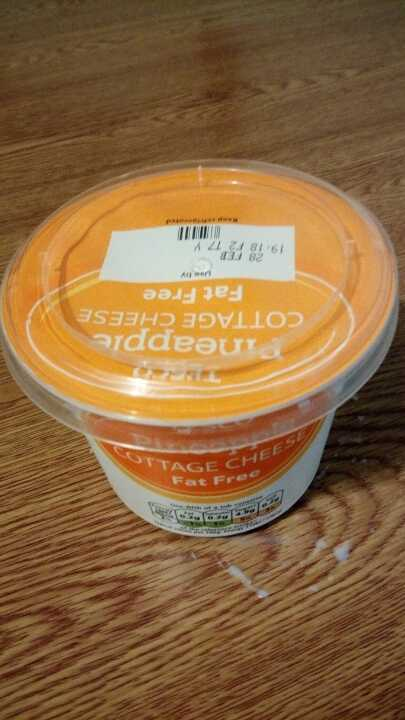 Pineapple cottage cheese 300g tescos own