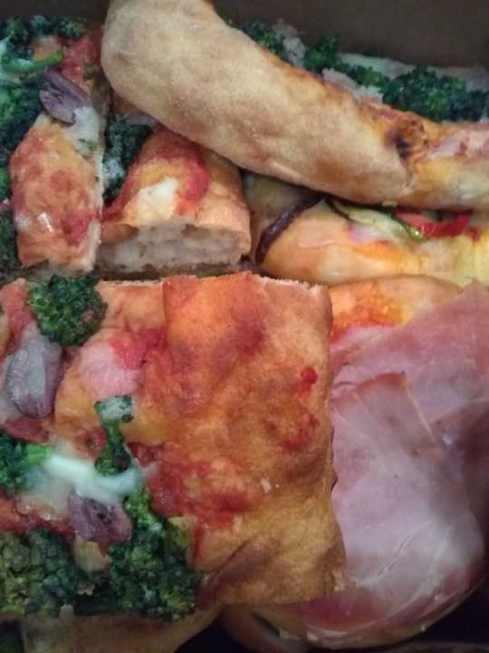 Tuesday sandwiches and pizzas