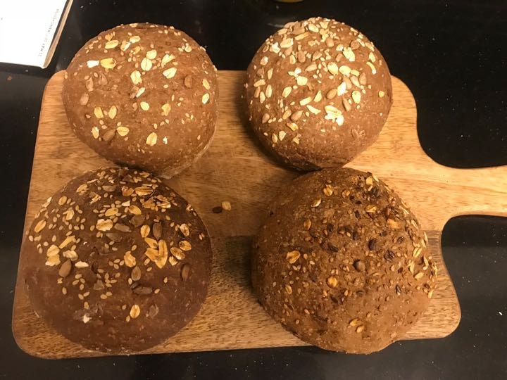 Fresh brown rolls from Pesso (27/02)