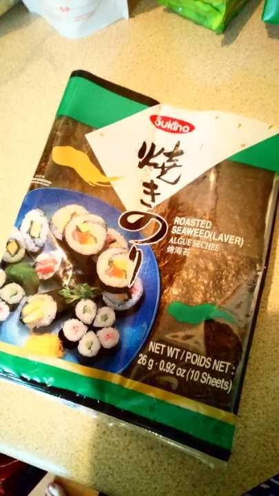 Half pack sushi seaweed