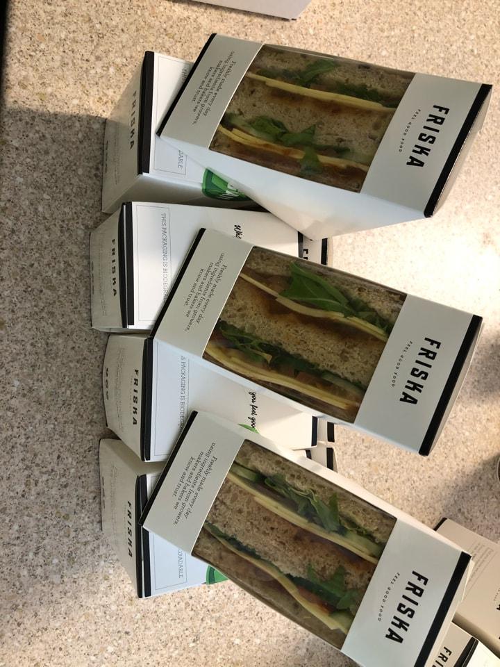 Friska - Vegan sandwich