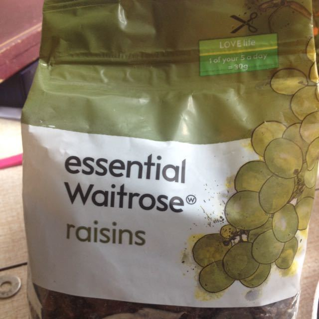 Essential waitrose 500gr raisins
