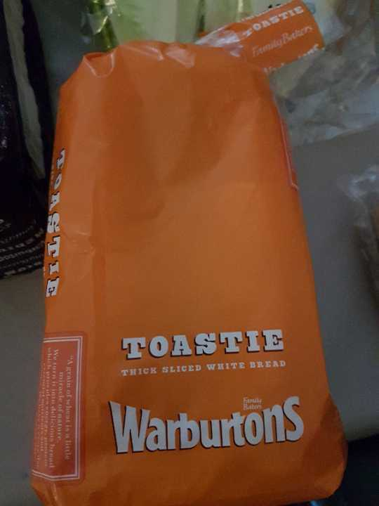 Small white toastie