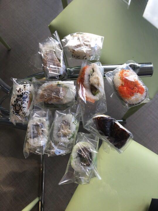 10 piece mixed sushi