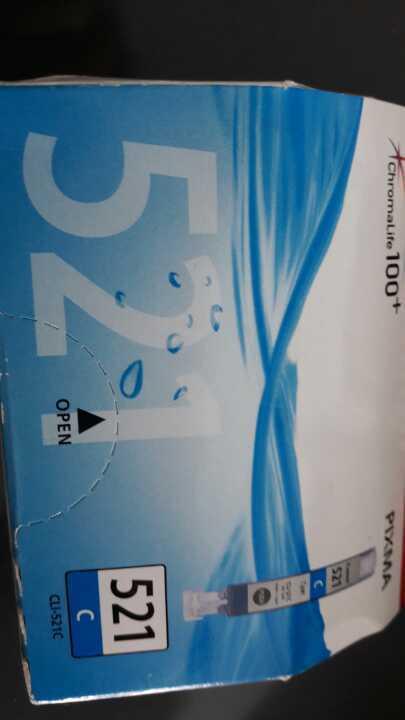 Canon Cyan 521c printer cartridge