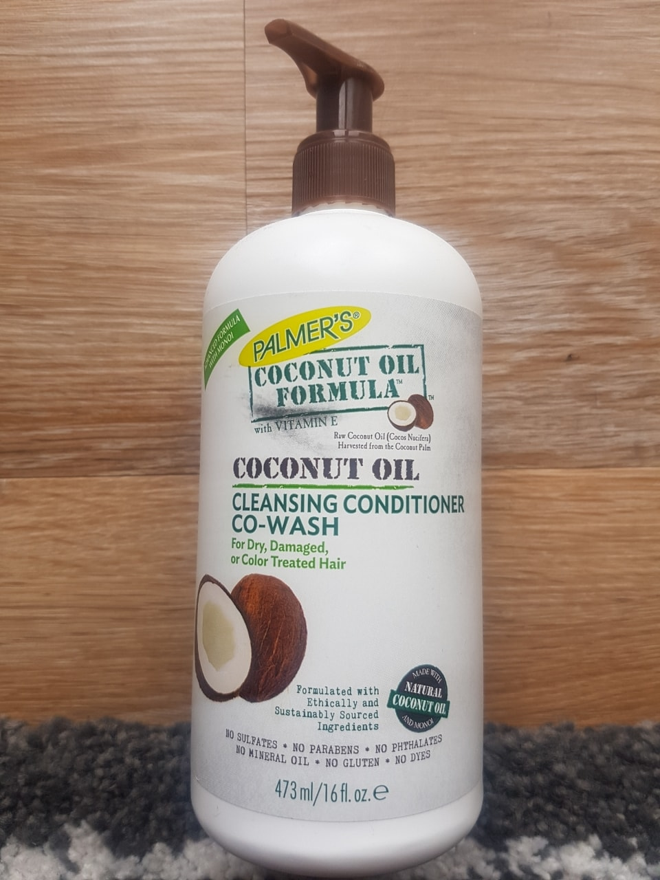 Palmer's Co-Wash (conditioner), coconut oil