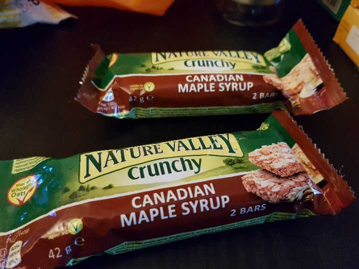 Nature Valley Crunchy bars - Canadian Maple Syrup