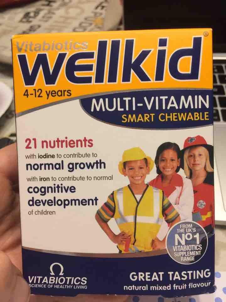Wellkid vitamins
