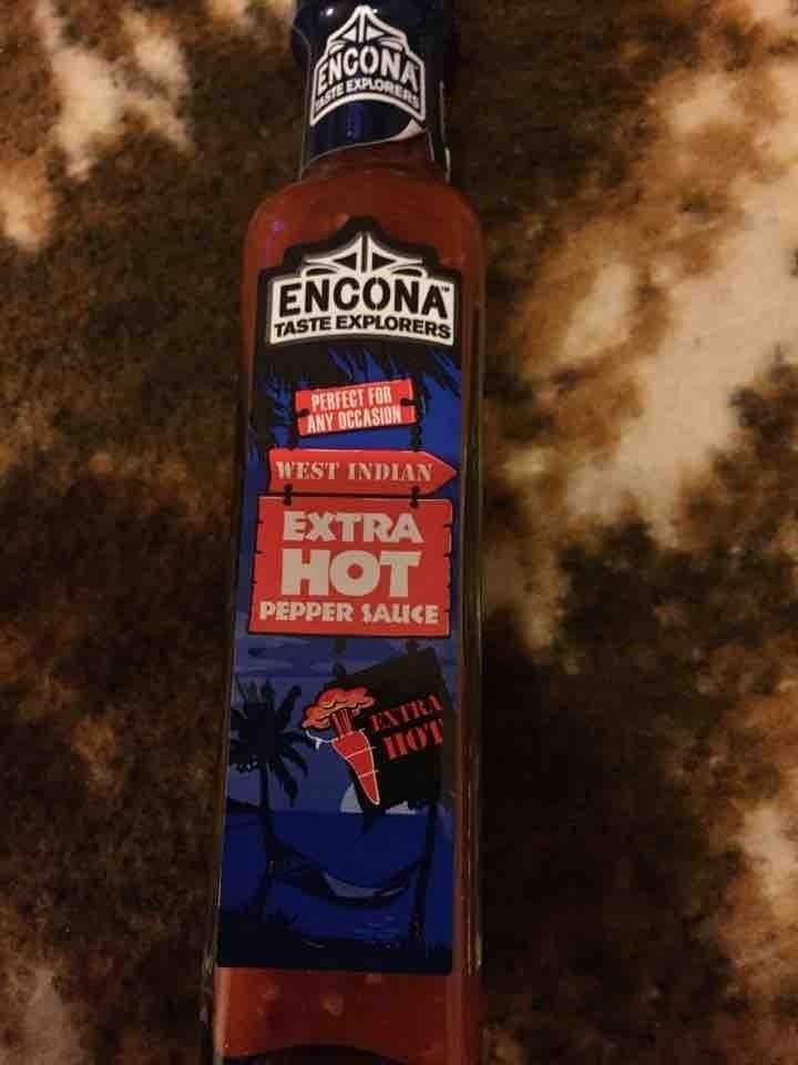 Extra hot pepper sauce