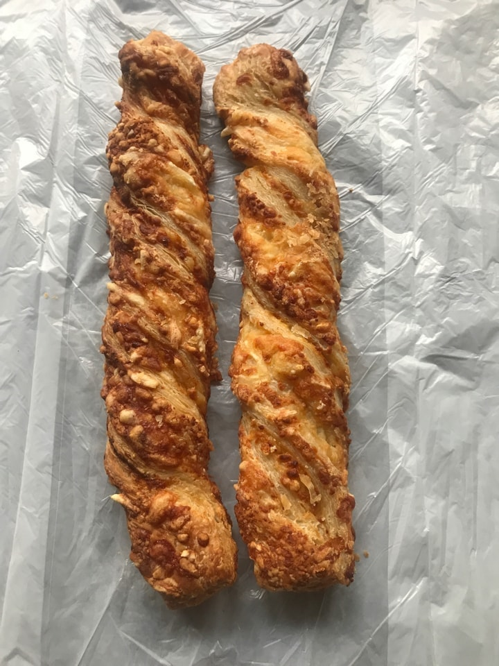 2 cheese twists