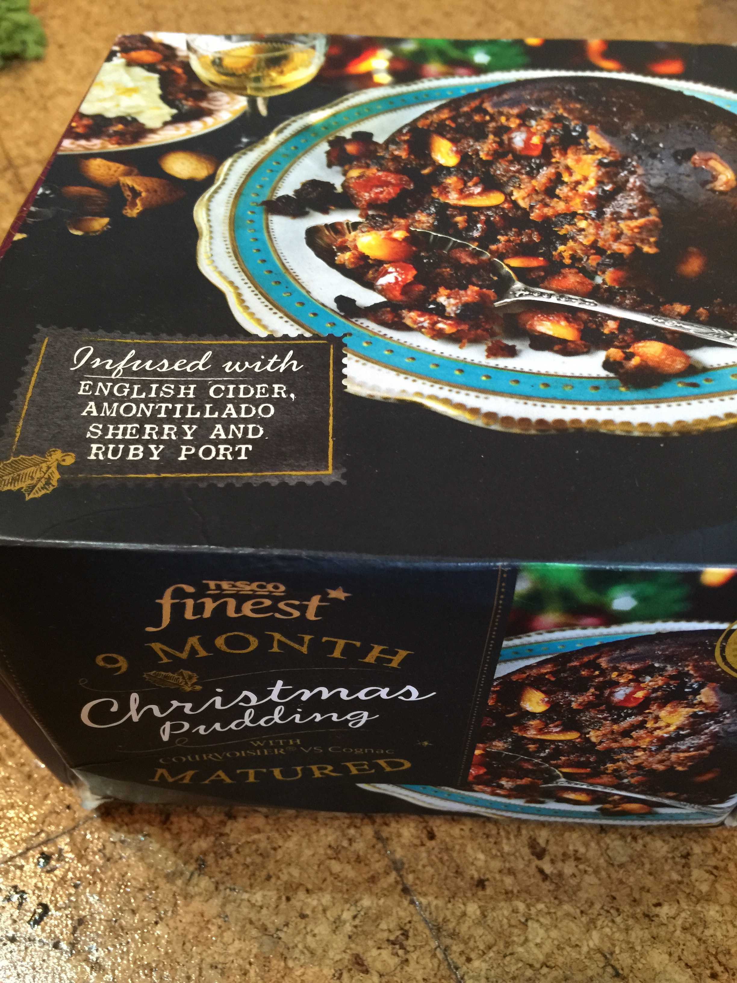 Finest boozy Christmas pudding