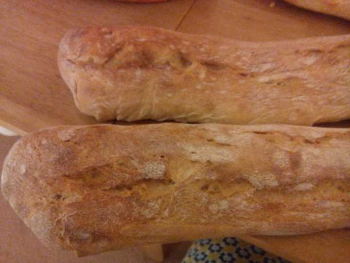 2 Artisan  baguettes