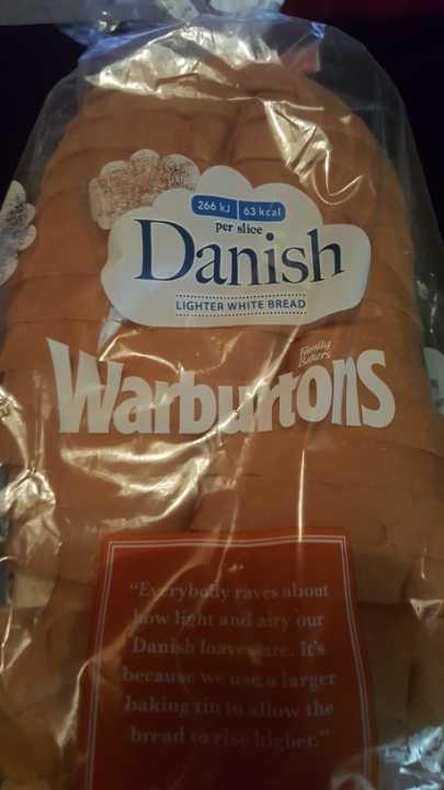 Warburtons danish lighter white