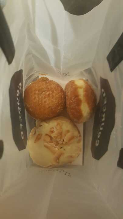 Selection of pastries from SOURCED MARKET ST PANCRAS