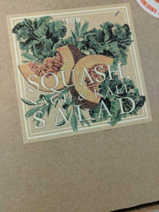 LEON Squash Sage and Kale Salad