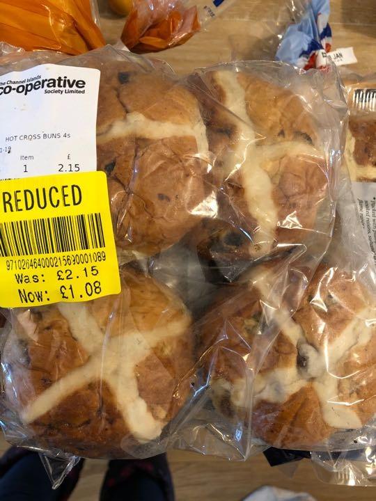 Co op hot cross buns