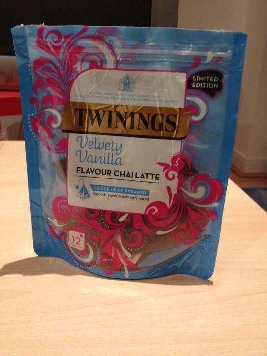 Twinings - Vanilla chai latte tea bags