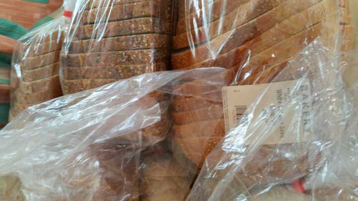 2 x 800g wholemeal bread