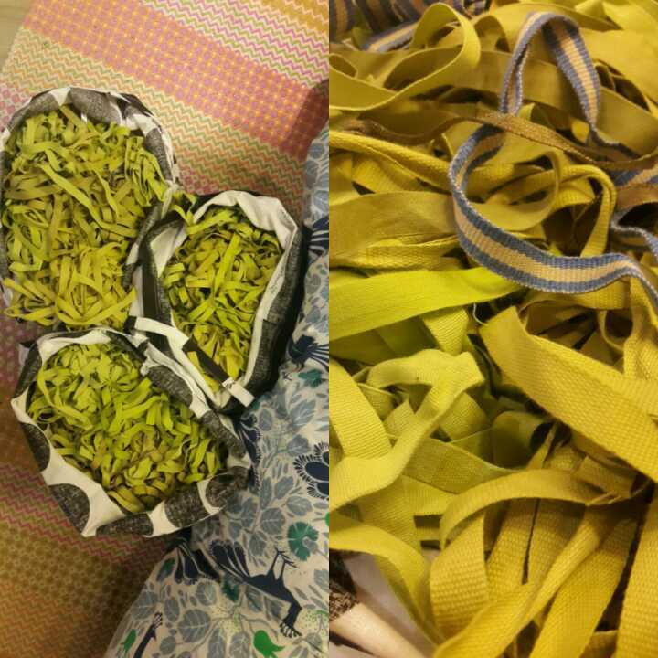 2 bags of cotton ribbons