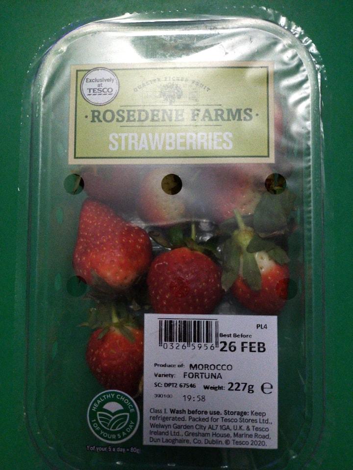 Rosedene farms strawberries