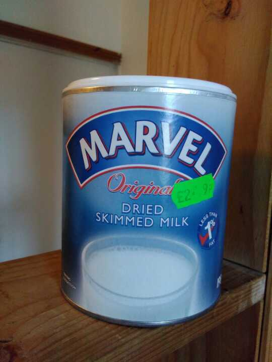 Marvel skimmed milk powder