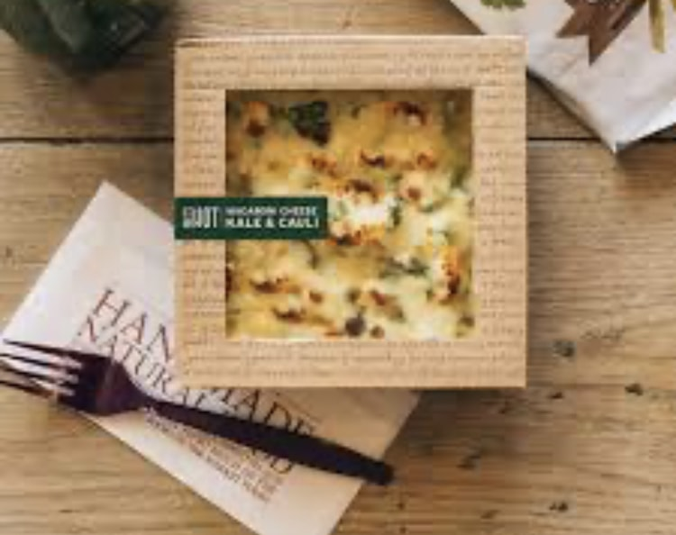 Pret veggie Mac and cheese