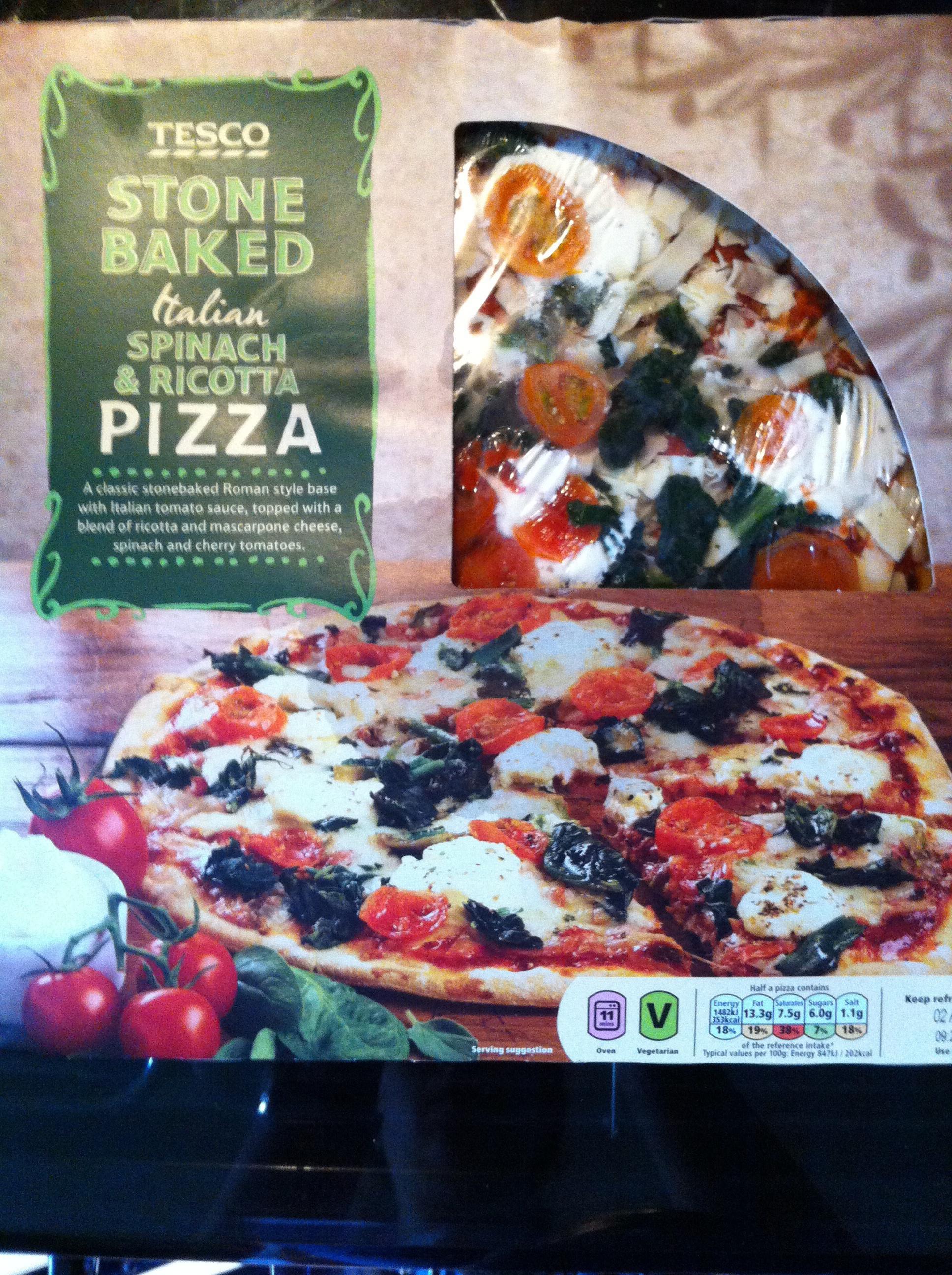Tescos Pizza Olio