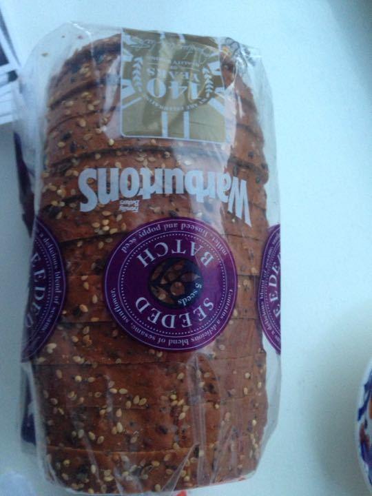 Warburtons seeded bread