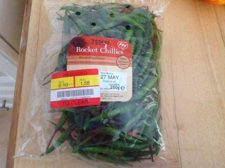 Rocket chillies