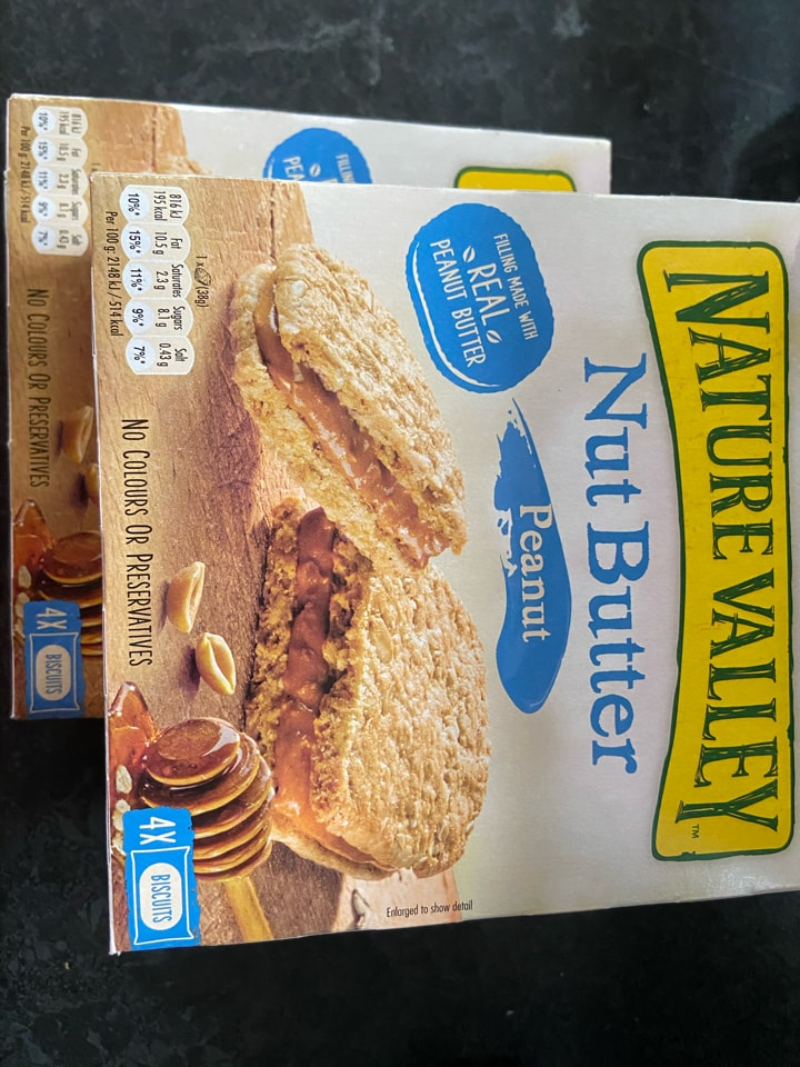 Nut Butter Nature Valley