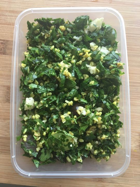 Tabbouleh Freshly made today x 2 pots