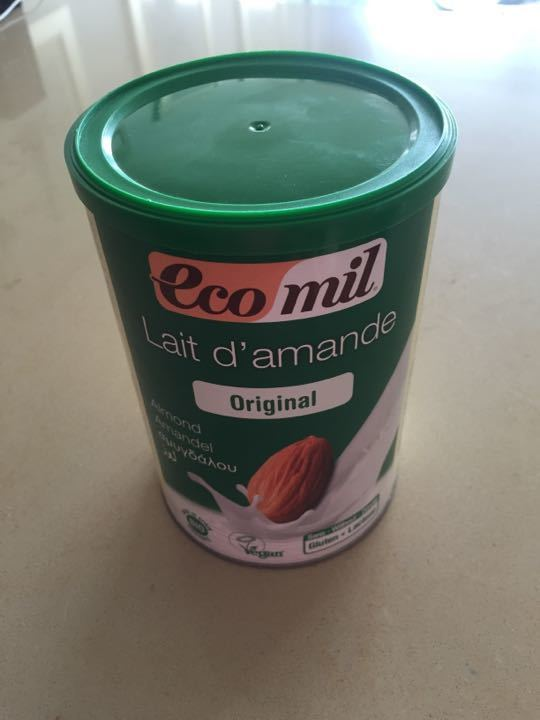 Almond milk powder 400g - new - opened once