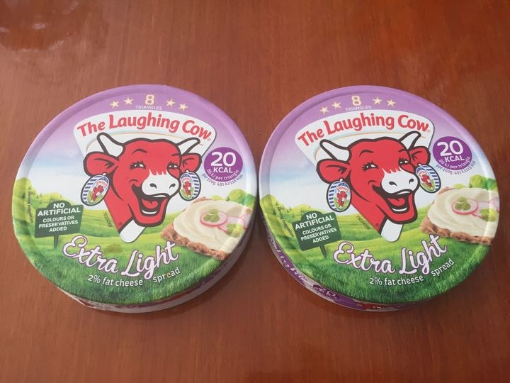 Laughing Cow cheese triangles Extra Light