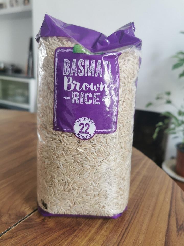 Brown Basmati Rice BBE Oct 2019