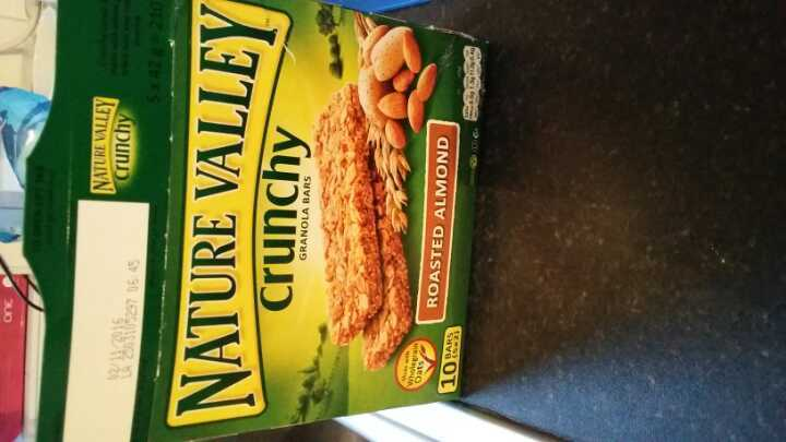 Nature Valley Crunchy Roasted Almond Granola Bars