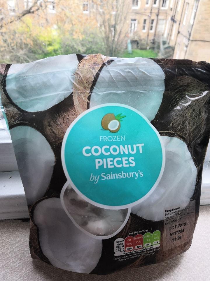 Frozen Coconut Pieces