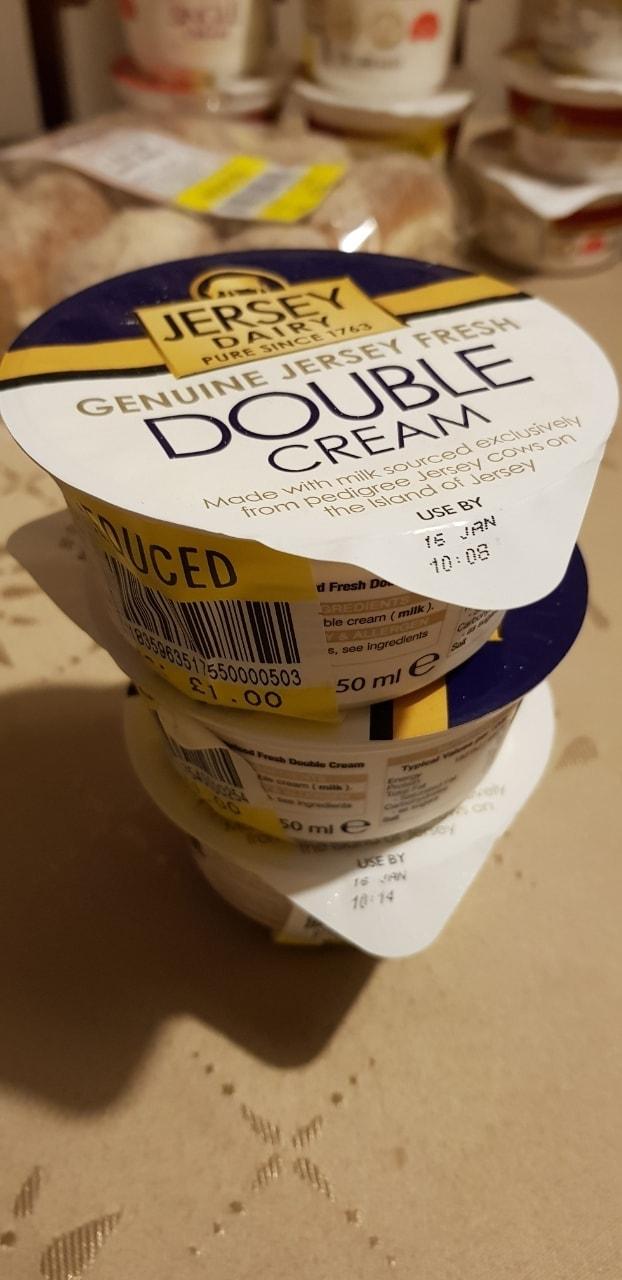 Double cream 150ml