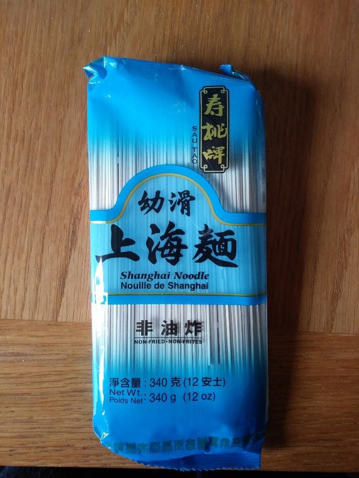 Shanghai noodles - dated 2016