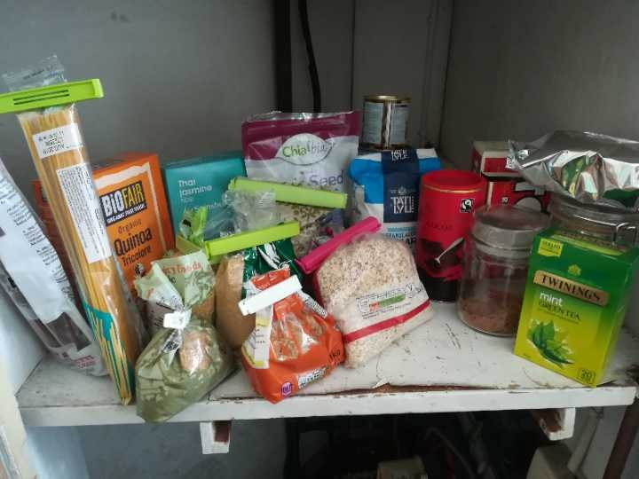 Whole range of ingredients (must go as we're moving out!)