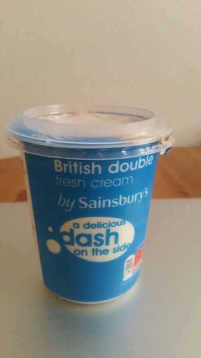Double Cream (Sainsbury's)