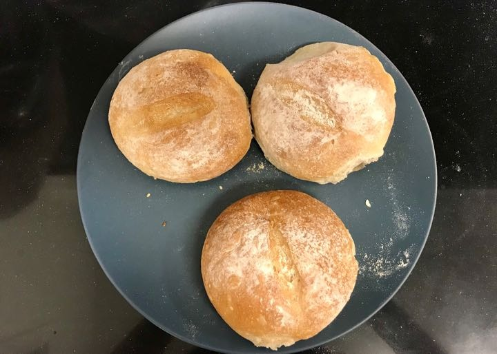 Fresh buns from Pesso