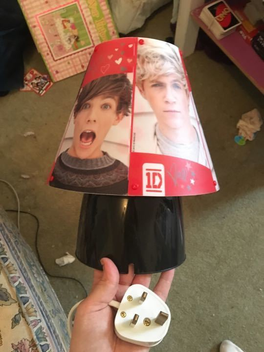 One direction lamp and lots of other 1D merch