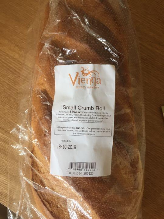 Small crumb roll