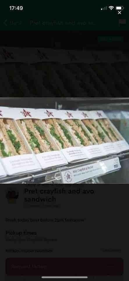Pret Sandwiches 🥪