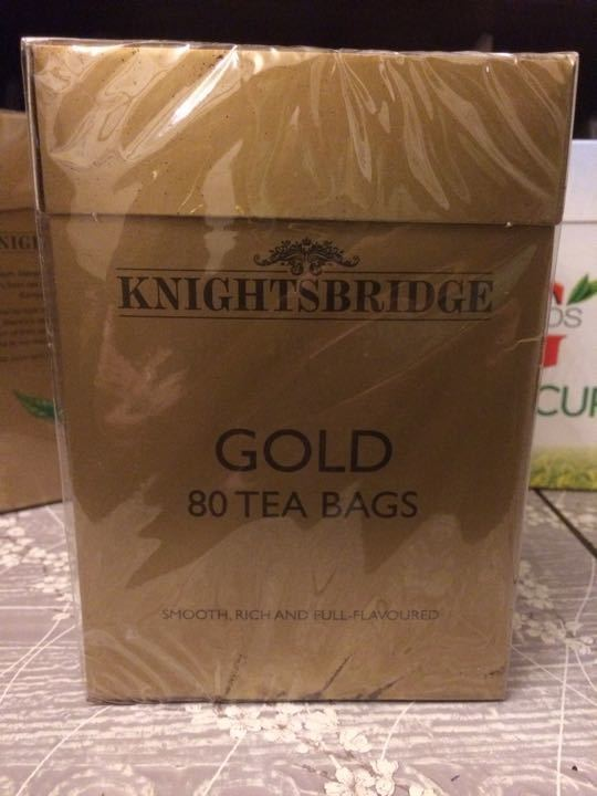 Knightsbridge Gold T Bags
