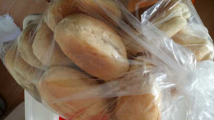 Soft rolls and baguettes