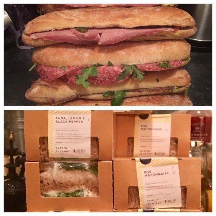 🥪🥖Sandwiches & Baguettes from Sourced Market UPDATED 🥖🥪