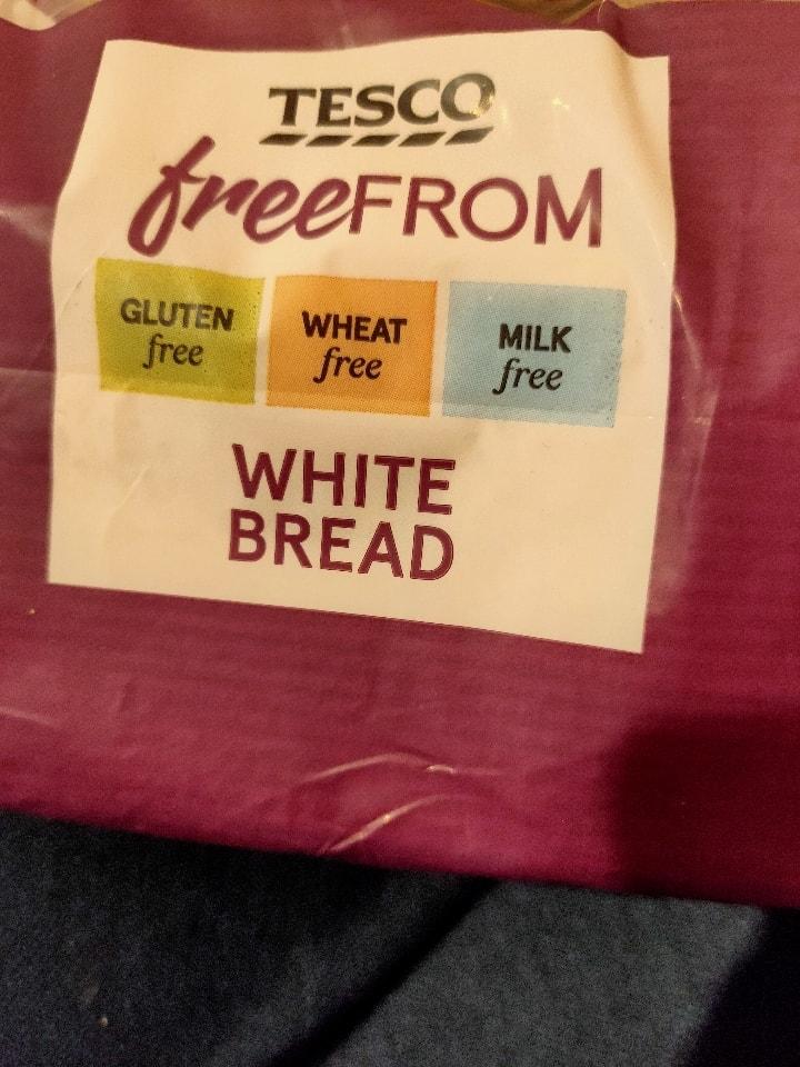 Tesco free from white bread